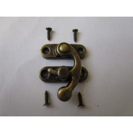 Decorative lock antique with screws