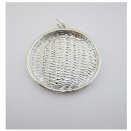 Pendant cup round 24mm