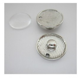 Setting for base + clear dome for bracelet  FJTR125