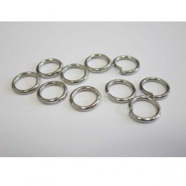 Jump ring Chrome 20 pcs