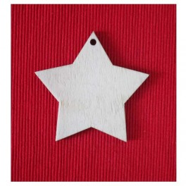 Wooden shape Star