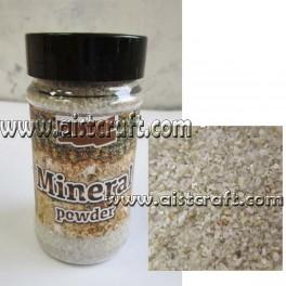 Mineral powder Albite
