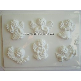 Mould for gypsum
