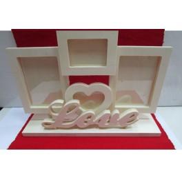 Wooden Frames Love