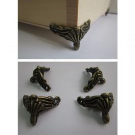 Metal box legs  4 pcs/set