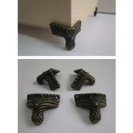 Metal box legs 4pcs/set