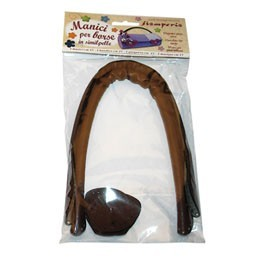 Pack 2 Leatherette Bag Handles