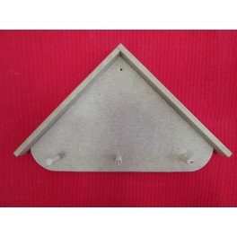 Clothes hook MDF