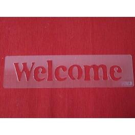Stencil 3d Welcome