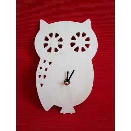 Clock Owl 21x13,5 cm
