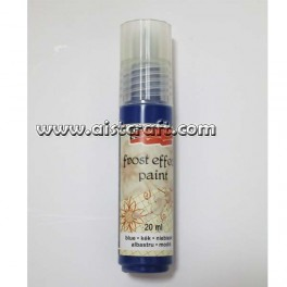Acrylic paint Frost effect Blue