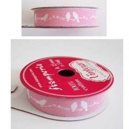 Printed cotton ribbons
