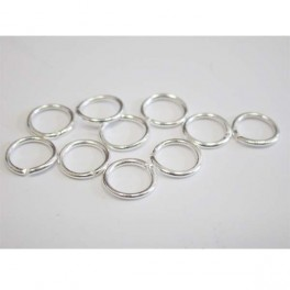 Jump ring Silver 20 pcs