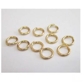 Jump ring Gold 20 pcs