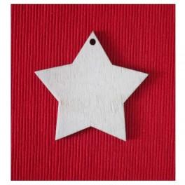 Wooden shape Star