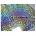 Decor foils Hologram arany 5 pcs