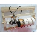 Wooden holder for Jewelry accessory