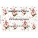 Rice paper for decoupage Vintage Roses