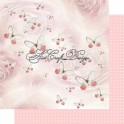 Scrapbooking paper 200 gsm Butterfly & Roses