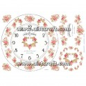 Rice paper for decoupage Shabby Roses