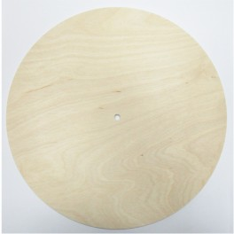 Clock base wood